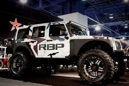 Jeep Wrangler with RBP Wheel 90R