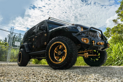 Jeep Wrangler with RBP Wheel 66R