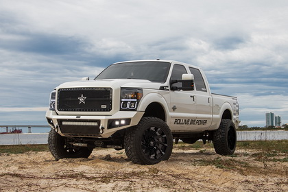 Ford F-250 with RBP Wheel 77R