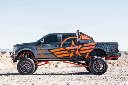 Ford F-250 with RBP Wheel 71R