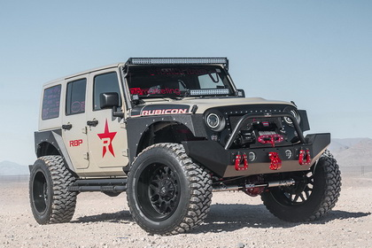 Jeep Wrangler with RBP Wheel 73R
