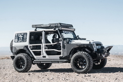 Jeep Wrangler with RBP Wheel 69R