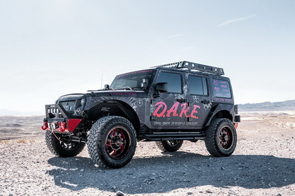 Jeep Wrangler with RBP Wheel 65R