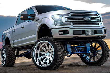 Ford  F-150 with RBP Wheel 74RF